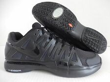 NIKE ZOOM VAPOR 9 TOUR ID BLACK-WHITE SZ 8.5 WIDE [578669-994]