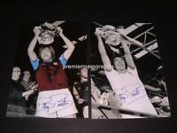 WEST HAM UNITED FC 1975 & 1980 FA CUP FINAL CAPTAIN BILLY BONDS SIGNED PHOTOS