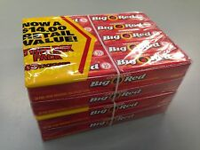 BIG RED Cinnamon Chewing Gum from Wrigley's 80x5 Packs=400 CT BBD JAN17
