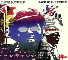 Back to the World by Curtis Mayfield CD from the UK