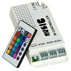12V 5A LED Music Controller w/ IR remote Sound-activate RGB controller 3channels