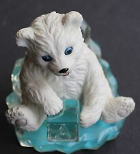 "Polar Bear Figurine ""Play Time""; The Hamilton Collection"