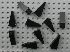 10 x black slope brick LEGO ref 4286 / 4565 7784 10027 5491 6941 5590 7745 6286