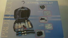 Pro-To-Go Ultimate TRAVEL Organizer Kit NEW $40 Hanging q/ Umbrella Alarm Clock+