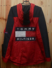 Tommy Hilfiger Vintage Men's Windbreaker Jacket Big Logo Red Size X-Large Rare