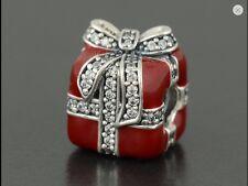 Authentic Genuine Pandora Silver Sparkling Surprise Enamel Charm - 791772CZ