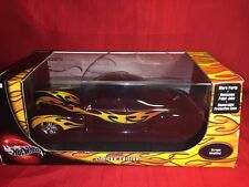 HOT WHEELS 1:18 SCALE SCRAPE MODIFIED W/FLAMES BLACK MIB SEALED VERY NICE!!*