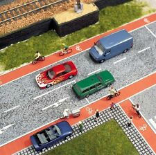 Busch 7082 Cycle Paths 2 x Flexible, Selfadhesive, 14.5mm W x 1m L HO Scale 1st