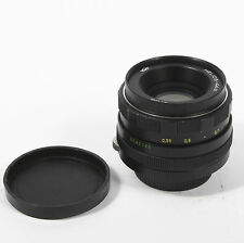 Helios 44M 58mm f/2 Multi-Coated Fast Prime M42 Camera Lens for Swirly Bokeh