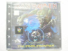 Iron Maiden The Final Frontier CD 2010  RARE INDIA INDIAN HOLOGRAM NEW sticker