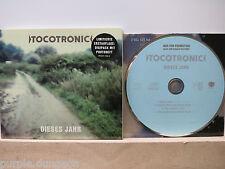 TOCOTRONIC - DIESES JAHR CD Promo Erstauflage mit Photobuch / ltd. ed. photobook