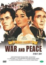 WAR AND PEACE (1968) DVD (Sealed) - Audrey Hepburn