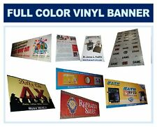 Full Color Banner, Graphic Digital Vinyl Sign 4' X 6'