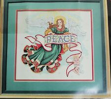 Dimensions Gold Counted Cross Stitch Kit Peace on Earth 8495 Christmas 1996 NEW