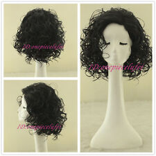 ladies Fashion wig Charm Women's short Black Curly Natural Hair Classic wigs