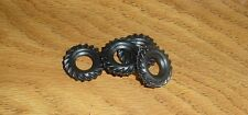 DINKY SUPERTOY 4 RPLACEMENT Black Rubber Tires for Dinky #666 & 959 and 965