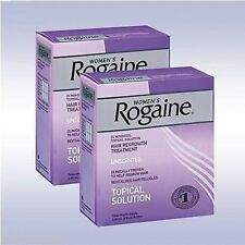 Rogaine for Women Hair Regrowth Treatment 6- 2 ounce bottles Expiration 2018 New