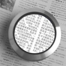 75mm Magnifying glass desk loupe with LED light 6x magnification MG1303 LE