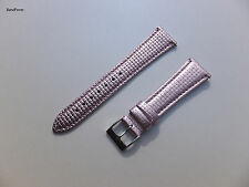NEW 20mm PINK METALLIC CROSSOVER WATCH BAND QUICK RELEASE SPEED PINS