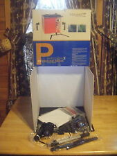 "New SQUARE PERFECT PROFESSIONAL SERIES PHOTO STUDIO 16"" Box Light Kit Tent SP200"