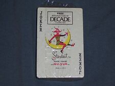 Vintage DECADE Cigarettes Playing Cards SEALED Stardust NOS