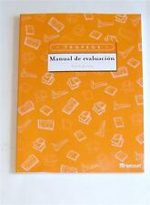 HARCOURT TROPHIES TROFEOS SPANISH MANUAL de EVALUACION KINDERGARTEN