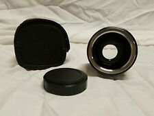 VIVITAR AUTO 2x CUSTOM TELE CONVERTER LENS  2x -1 ONLY, M42 screw mount W/ CASE