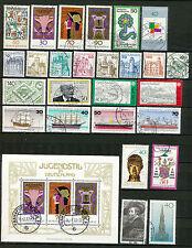 Bundespost jaargang 1977 gebruikt (3) zonder de C en D nummers