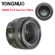 Yongnuo 50mm F1.8N 1:1.8 Standard Prime Lens Auto Manual Focus AF MF for Nikon