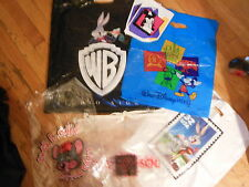 Disney Plastic Bags. Chuck E. Cheese, Warner Brothers, Color Changing Del Sol