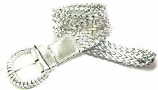 """LS3003 3"""" WIDE BRAIDED BELT FOR LADIES 5 COLORS & 6 SIZES PLUS USA FREE SHIPPING"""