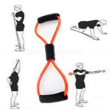 8 förmig Expander elastisch Widerstandsbänder Bodybuilding Krafttraining Fitness