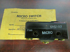 HONEYWELL MICRO SWITCH 6AS107 6AS1O7 Double Micro Switch