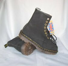 DOCs NEW Vintage Black TNT 8 Eyelet Dr. Martens Boys' Classic Boots UK 6 USA 7