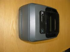 Zebra GX430T (GX43-100410-040) Label Thermal Printer and power adapter