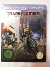TRANSFORMERS 3 -DARK OF THE MOON -FILM IN BLU-RAY STEELBOOK -COMPRO FUMETTI SHOP