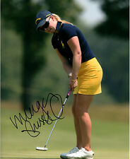 Morgan Pressel LPGA star hand signed autographed 8x10 golf photo coa