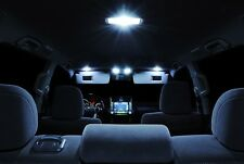 For 02 03 04 05 06 Cadillac Escalade LED Interior Package Xenon White Combo Kit