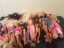 Lot Of 50 Mixed Barbie Dolls Vintage-Newer All Sizes