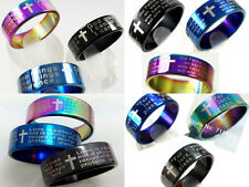 72 lots of Lord's prayer serenity Jeremiah 29:11 1 Corinthians 13:4 Bible rings