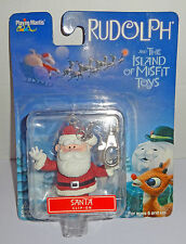Rudolph and the Island of Misfit Toys Santa Clip-on Keychain