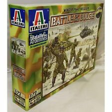 Italeri WWII 1944 Belgium Battle of the Bulge  Figure Kit 1/72