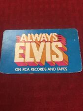 NEW ELVIS PRESLEY 1979 POCKET CALENDAR COLLECTOR CARD