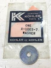 KOHLER RECOIL WASHER FOR SINGLE AND TWIN CYLINDER MOTORS X-1003-7 NOS QTY OF 1