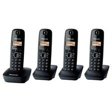 Panasonic KX-TG1614 Cordless Phone Quad 4 handsets NEW AND SEALED