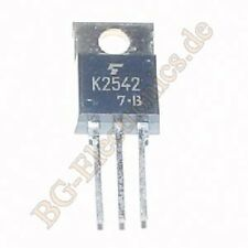 1 x 2sk2542 fet silicon N Channel Mos type 500v toshiba to-220 1pcs