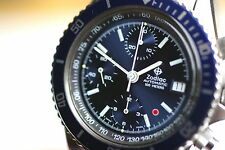 "Zodiac Automatic Taucher-Chronograph ""Red Dot"" rare Sammleruhr 1980'er Jahre TOP"