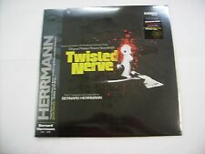 BERNARD HERRMANN - TWISTED NERVE - LP BLOOD SPLATTERED VINYL - BLACK COVER