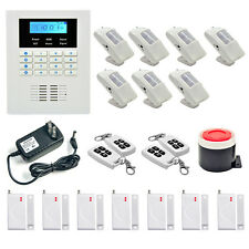 DANMINI GSM PSTN Dual Network Wireless Remote Home Security Alarm Burglar System