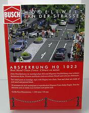 Busch 1023 Kit: barrière-poteaux avec chaîne-HO